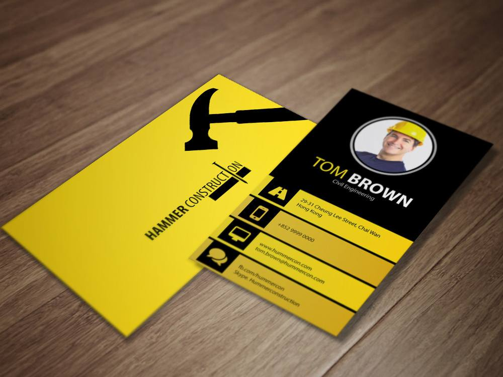 Standard business cards rich print solutions homeshopbusiness reheart Images